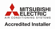 mitsubishi air con accredited installer